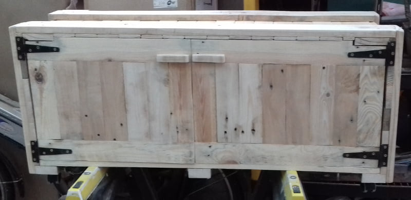 Upcycled Palletwood Cabinet