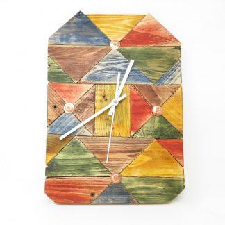 Colourful Block Clock