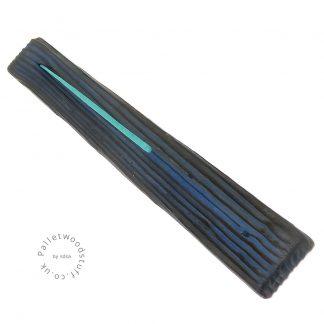 Reclaimed Wood Incense Burner 03 | Sky Blue