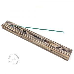 Reclaimed Wood Incense Burner 07 | White