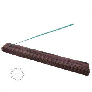 Reclaimed Wood Incense Burner 09   Plum