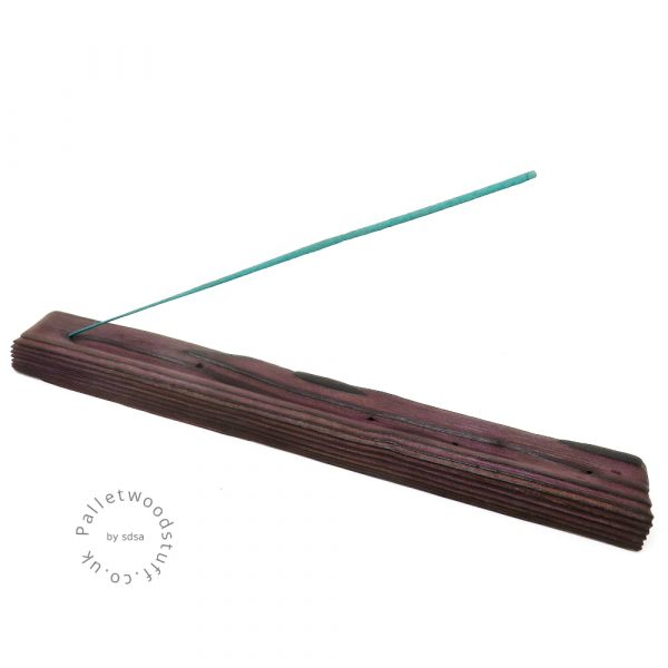 Reclaimed Wood Incense Burner 09 | Plum