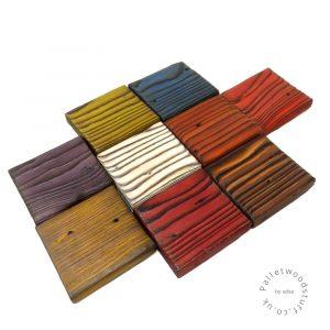 Pallet Wood Coaster Shou Sugi Ban
