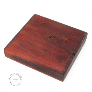 Dyed Palletwood Coaster 01 | Flame