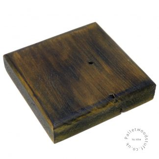 Dyed Palletwood Coaster 02 | Pear Green
