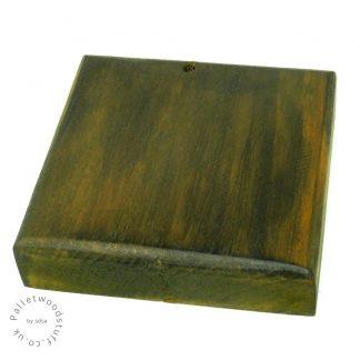 Dyed Palletwood Coaster 06 | Honey