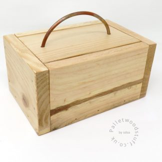 Small Bare Palletwood Box | Unpainted | Made to Order